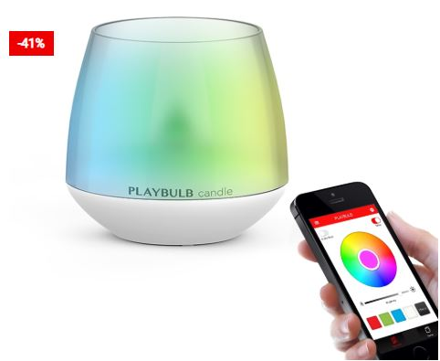 Flameless Candle Scented RGB Light